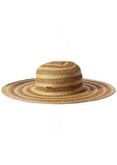 Nine West Women's Packable Lace Braid Super Floppy Hat