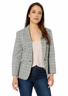 Nine West Women's Plaid Jacket