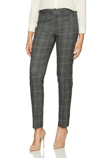 Nine West Women's Plaid Skinny Pant