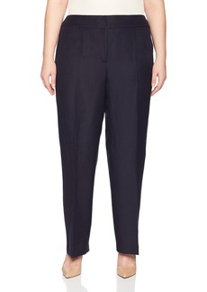 Nine West Women's Plus NEO Classic Linen Pant