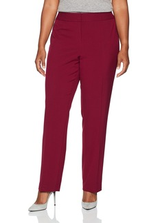 Nine West Women's Plus Size Bi Stretch Trouser Pant