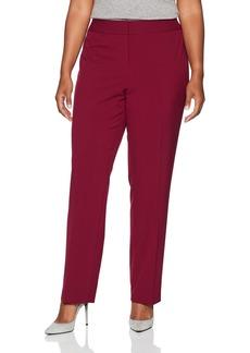 Nine West Women's Plus Size Bi Stretch Trouser Pant  22W