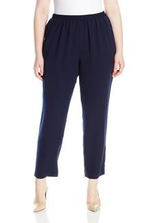 Nine West Women's Plus Size Crepe Pant