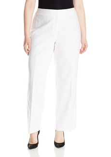 Nine West Women's Plus Size Linen Pant