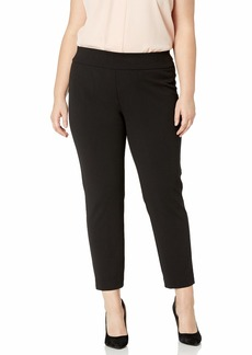 Nine West Women's Plus Size Pull ON Drapey Pant