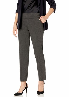 Nine West Women's Plus Size Pull ON Ponte Pant