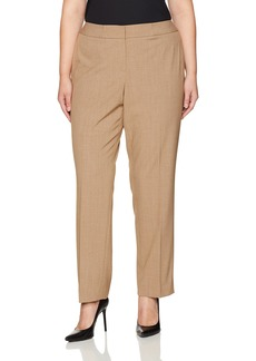 Nine West Women's Plus Size Solid Trouser Pant (2)