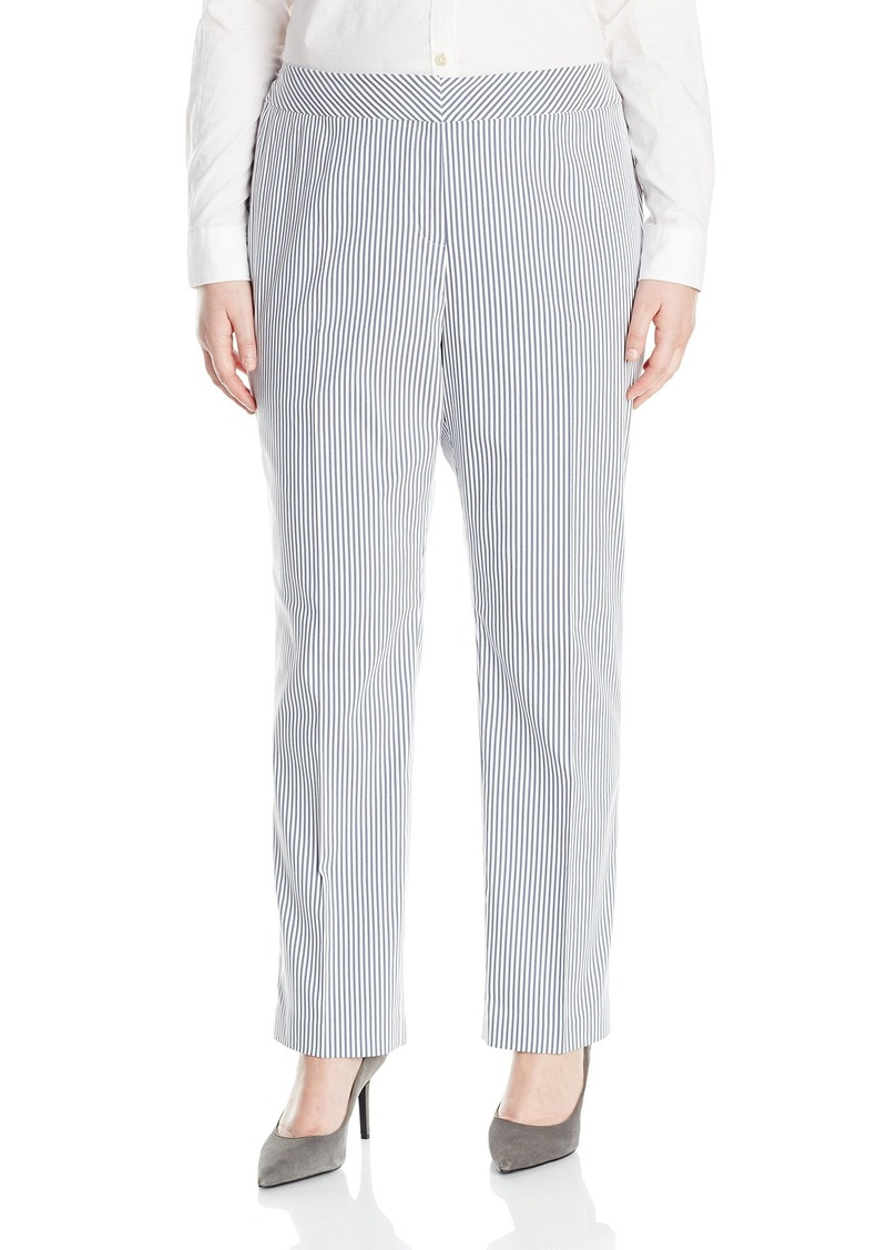 51a5402a5e5 Nine West Nine West Women s Plus Size Stripe Trouser