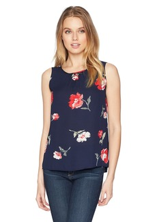 243aa07fb487 Nine West Women's Printed Amber CAMI with Key Hole Back Detail XL