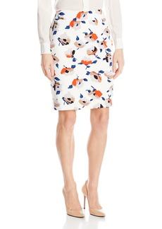 Nine West Women's Printed Slim Skirt