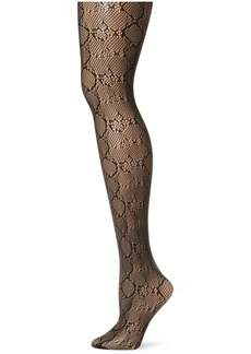 Nine West Women's Python Net Tight  Small/Medium
