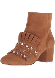 Nine West Women's QAMILE Suede Ankle Boot
