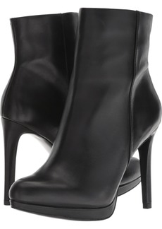Nine West Women's QUANETTE Leather Ankle Boot