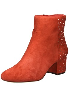 Nine West Women's QUAZILIA Suede Ankle Boot red