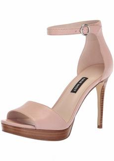 Nine West Women's QUERREY Leather Heeled Sandal