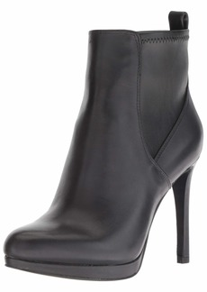 Nine West Women's QUILLIN Leather Ankle Boot