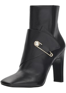 Nine West Women's QUITIT Leather Ankle Boot