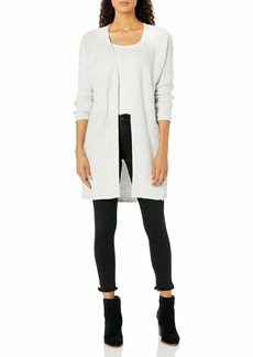 NINE WEST Women's Sherri Cabled Cardigan Duster Sweater