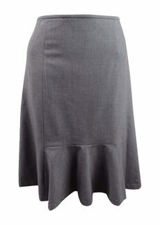 Nine West Women's Size Plus Flare Skirt