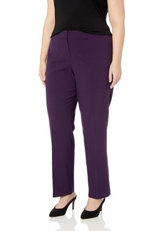 Nine West Women's Size Plus Stretch Trouser Pant