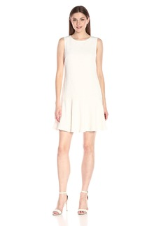 Nine West Women's Sleeveless Drop Waist Dress