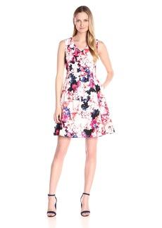 Nine West Women's Sleeveless Princess-Seam Dress