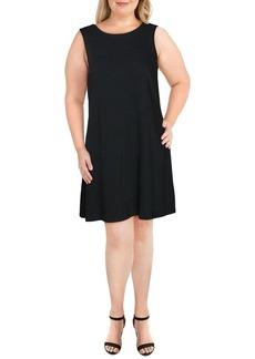 NINE WEST Women's Sleeveless Trapeze Dress