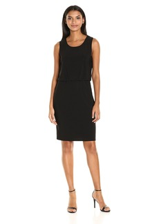 Nine West Women's Sleevless Blouson Dress