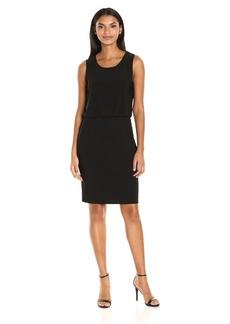 Nine West Women's Sleevless Blouson Dress