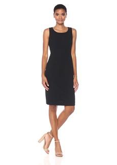 Nine West Women's Solid Basketweave Dress