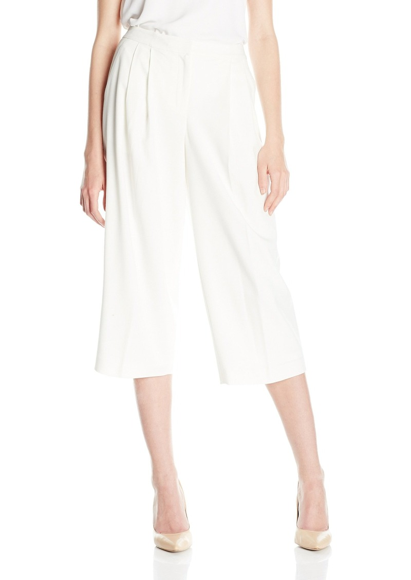 Nine West Women's Solid Culotte Pant ()