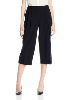 Nine West Women's Solid Culotte Pant