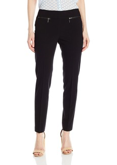 Nine West Women's Solid Slim Pant
