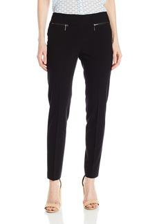 Nine West Women's Solid Slim Pant