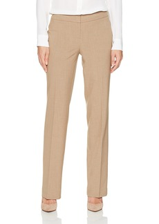 Nine West Women's Solid Trouser Pant