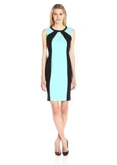 Nine West Women's Stretch Crepe Sheath Dress (2)