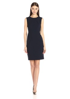 Nine West Women's Stretch Crepe Sheath Dress (1)