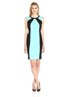 Nine West Women's Stretch Crepe Sheath Dress (2)