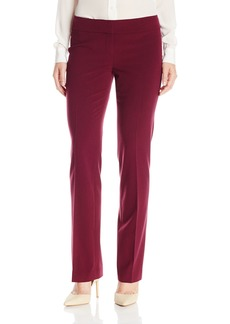 Nine West Women's Stretch Crepe Trouser Pant