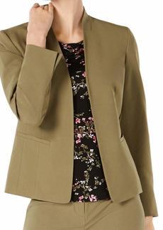 NINE WEST Women's Stretch KISS Front Jacket  XS