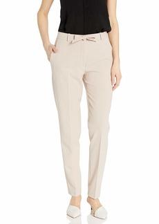 NINE WEST Women's Stretch Pant with SELF TIE Belt