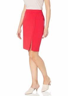 Nine West Women's Stretch Skirt with Front Detail