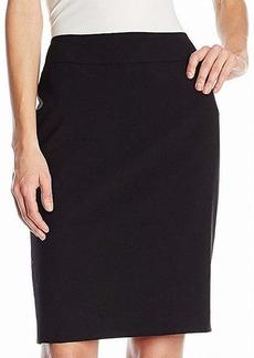 Nine West Women's Stretch Straight Skirt