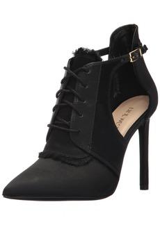Nine West Women's TAKEASHOT Fabric Ankle Boot Black