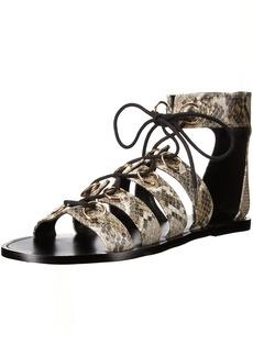 Nine West Women's Tayah Snake Gladiator Sandal