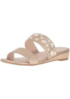 Nine West Women's Temisha Patent Wedge Sandal