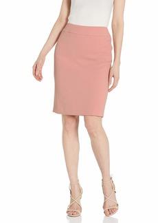 NINE WEST Women's Textured Crepe Skirt