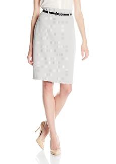 Nine West Women's Tweed Slim Skirt