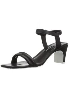 Nine West Women's URGREAT Leather Heeled Sandal