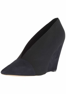 Nine West Women's VALRUS Fabric Pump Black